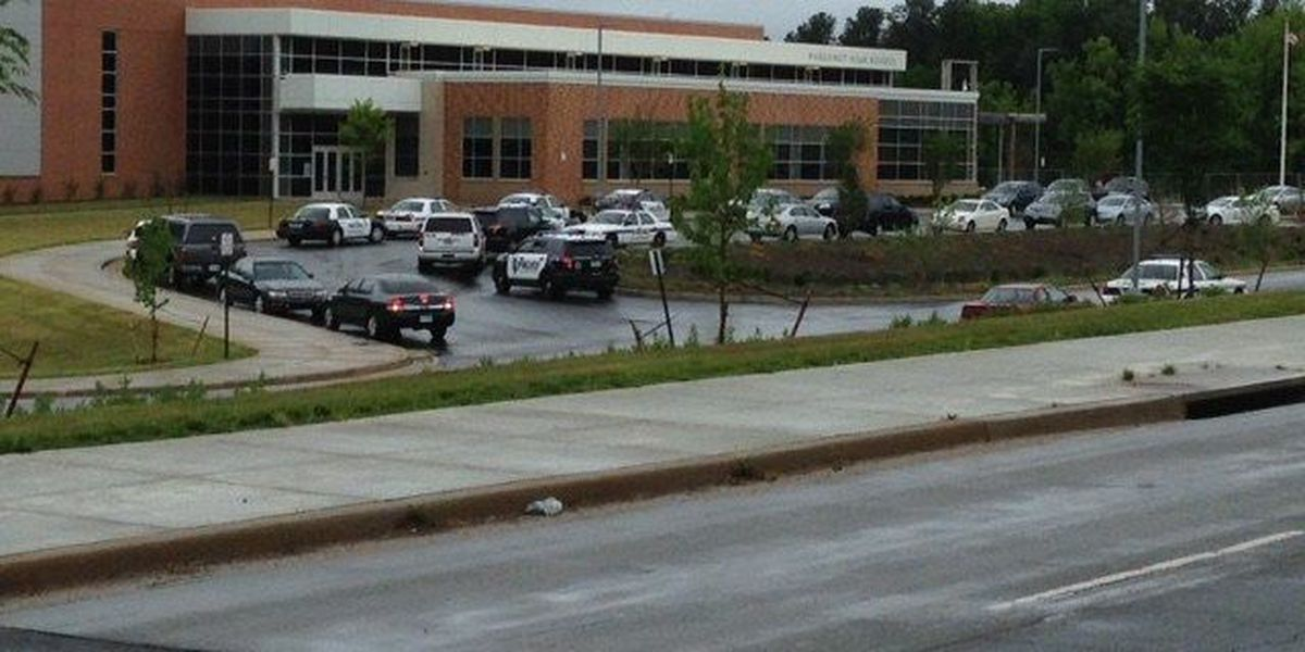 Huguenot High on modified lockdown; no weapon found