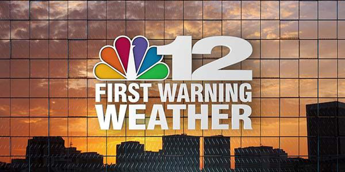 NOW ON NBC12: Overnight storms, early morning showers clear out for sunny afternoon
