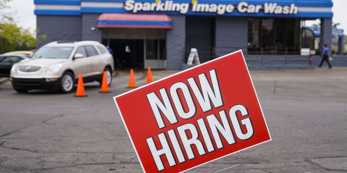 US jobless claims drop to 787,000, but layoffs remain high