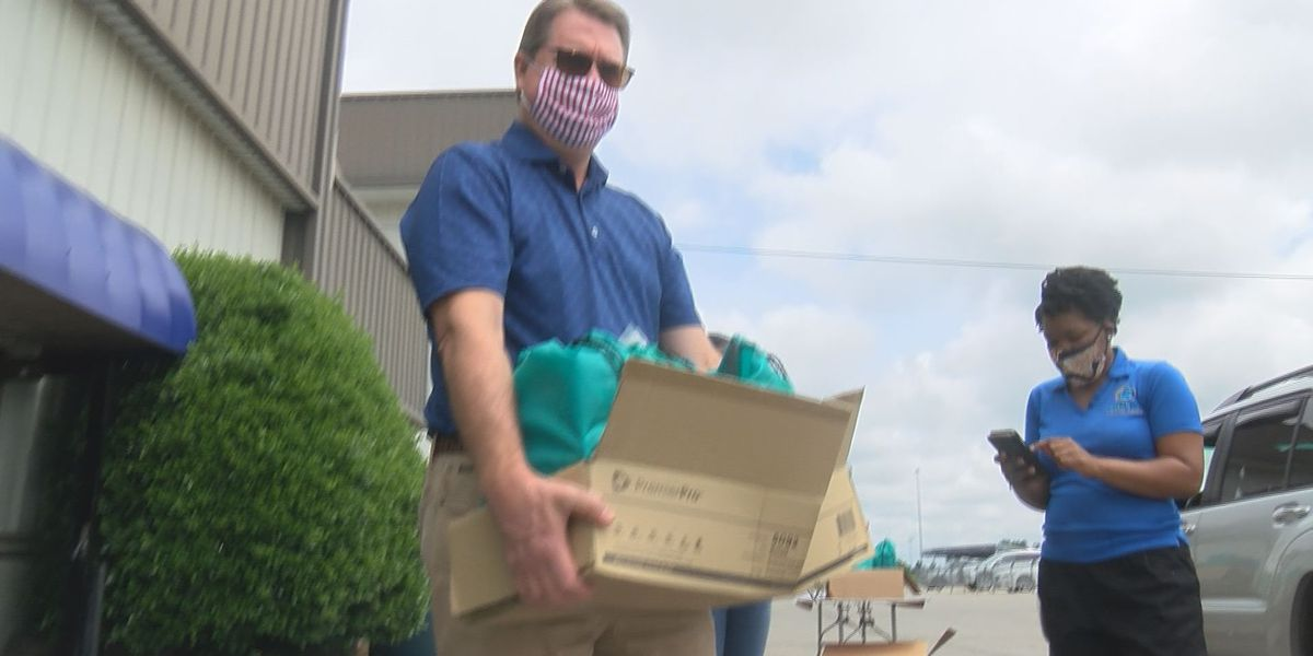 Forward RVA distributes PPE to small businesses