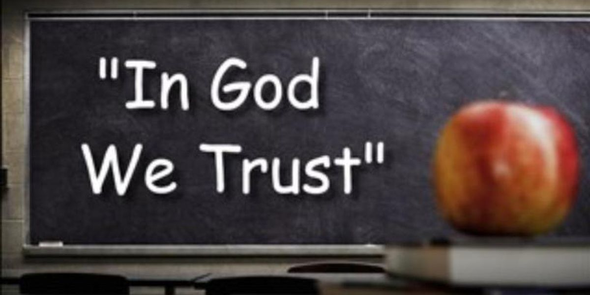 Kentucky House votes to put 'In God We Trust' in schools