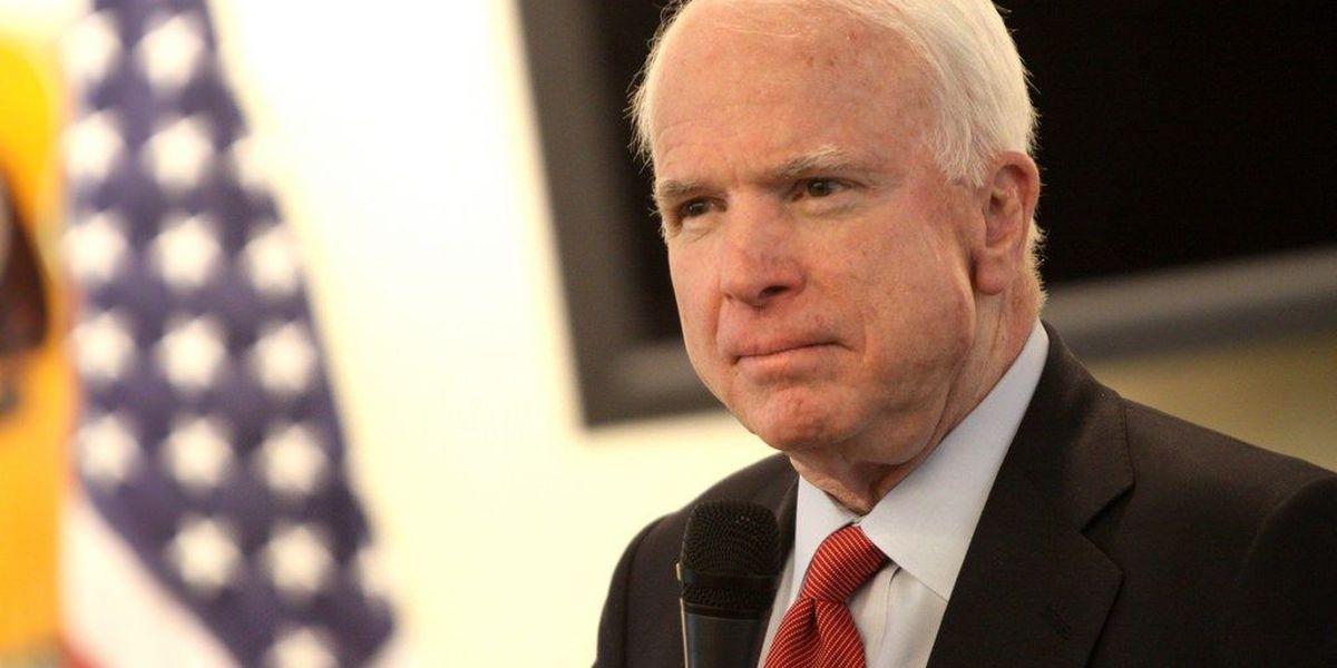 Senator McCain diagnosed with brain cancer