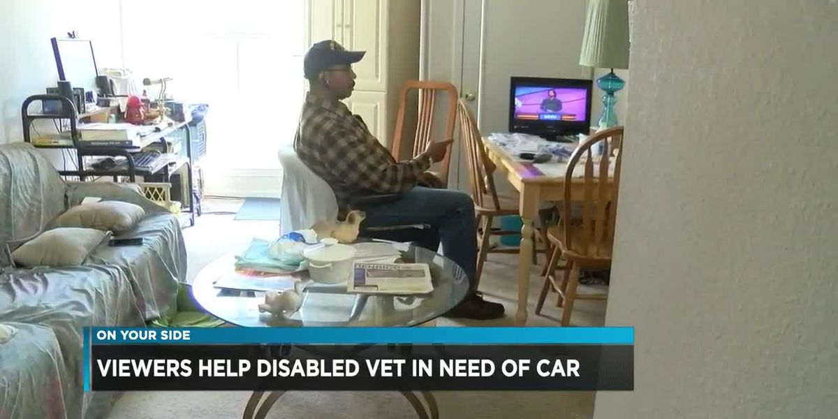 Viewers help disabled vet in need of car