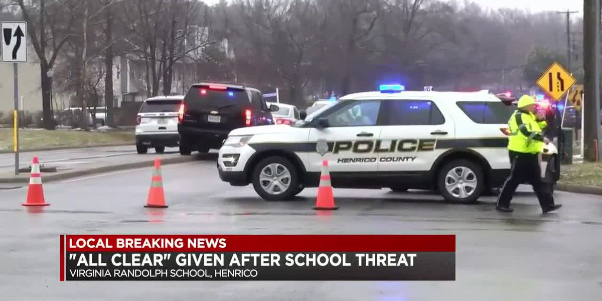 """All Clear"" given after school threat"