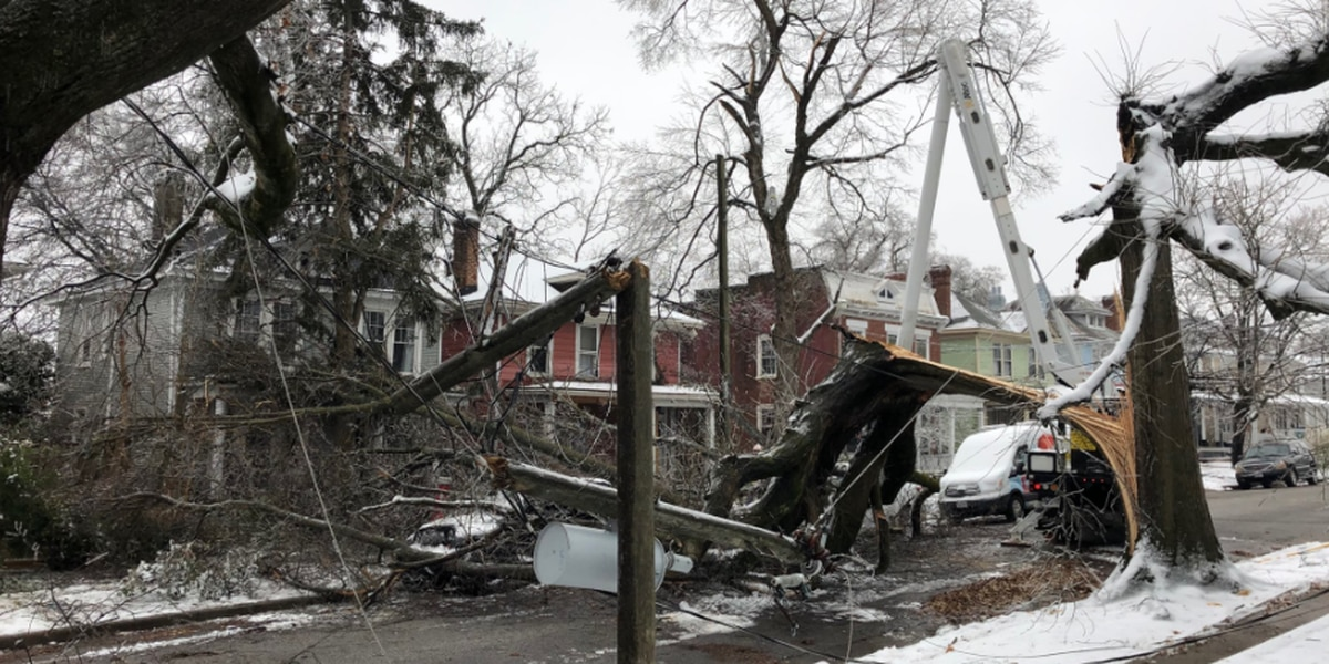 Electric companies continue to restore power | Here's how to report an outage