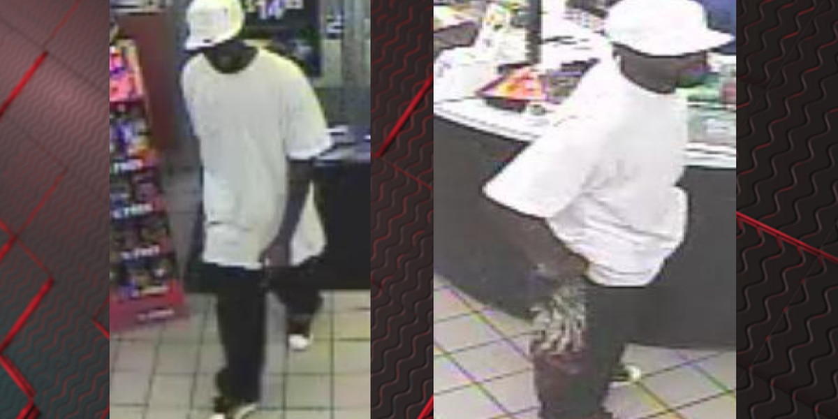 Armed suspect steals cash from Colonial Heights gas station