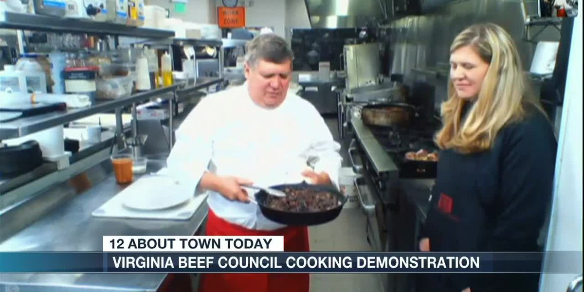 Virginia Beef Council Cooking Demonstration