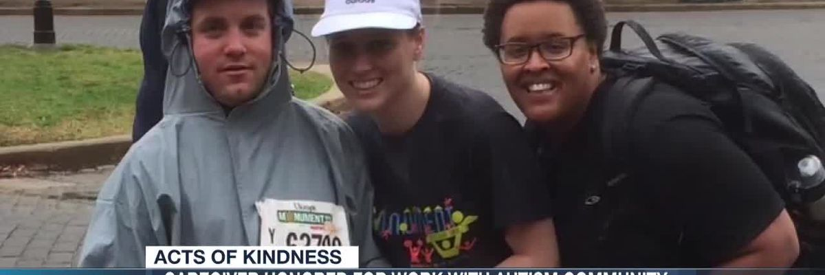 Caregiver honored for work with Autism community