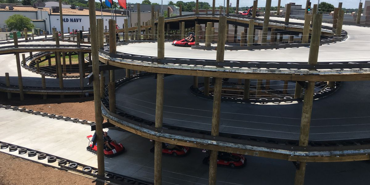 Virginia's first 30-foot multi-level go-kart track is now open