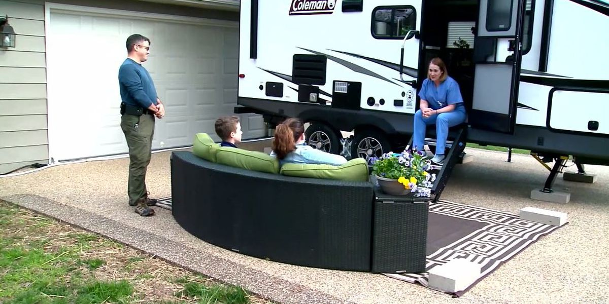 Mo. doctor buys camper to live in to protect family from coronavirus