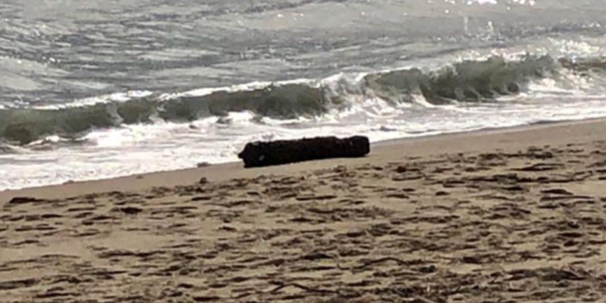Unexploded ordnance washes up on North Carolina beach