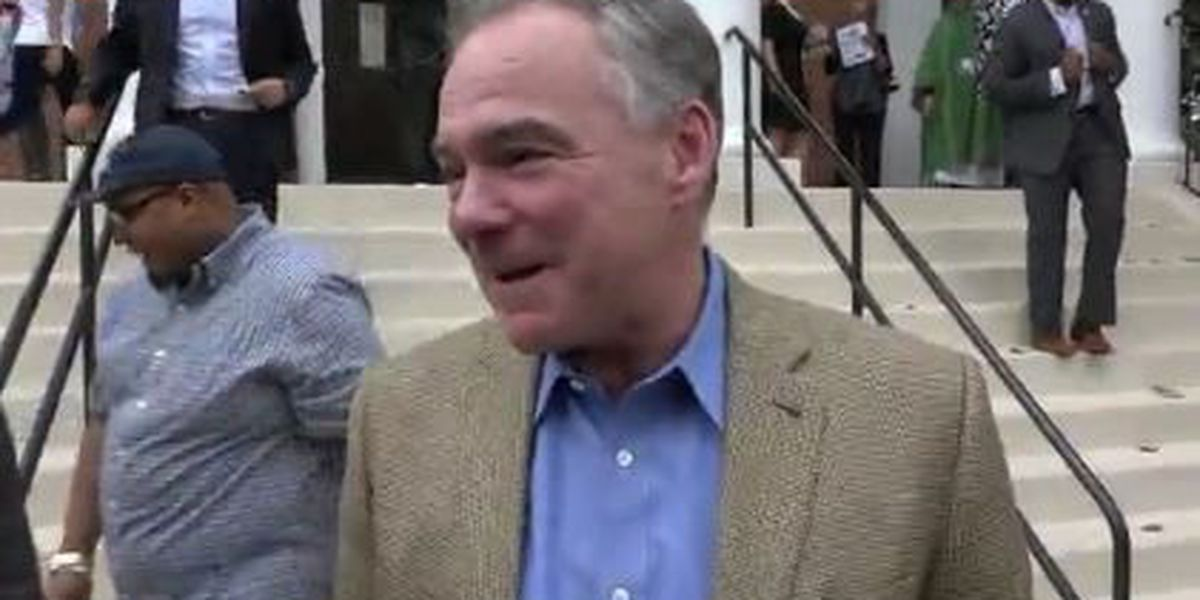 Sen. Kaine: Trump's immigration restrictions are 'a religious test'