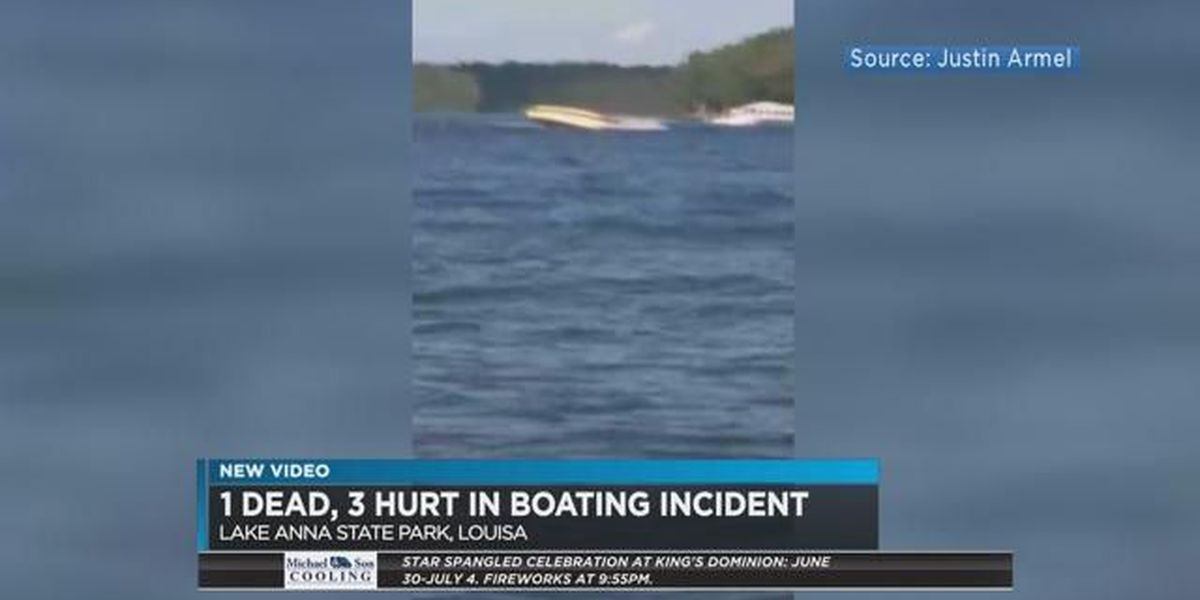 1 dead, 3 hurt in Lake Anna boating accident