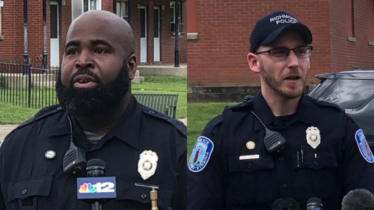 'It's refreshing, you know you helped save someone': RPD officers use tourniquets to save teen's life after shooting