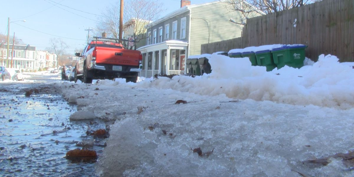 Richmond plowing status: Main roads cleared, side roads still in progress