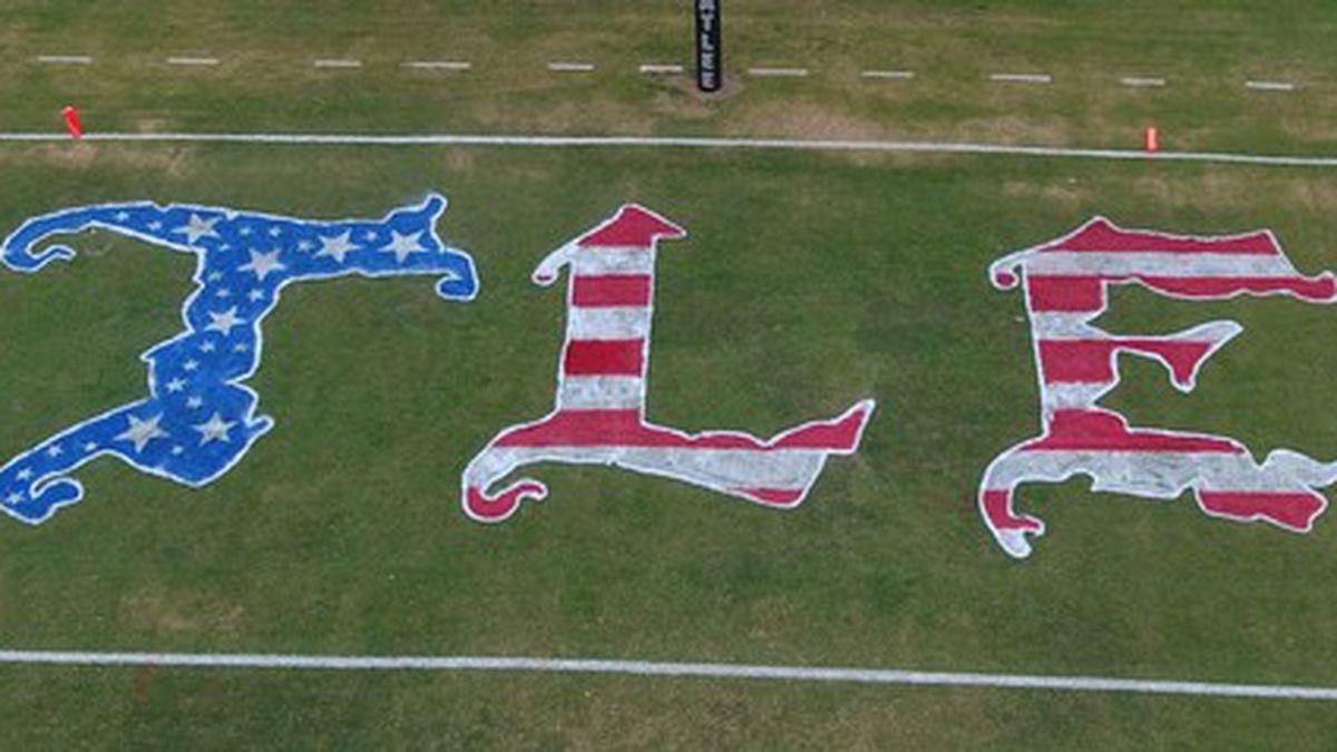 Atlee HS enters field design in patriotic contest
