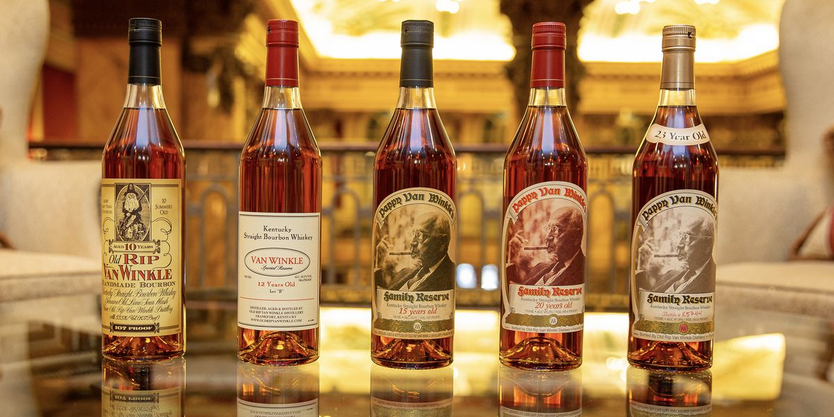Popular 'Pappy Van Winkle' bourbon lottery dates announced