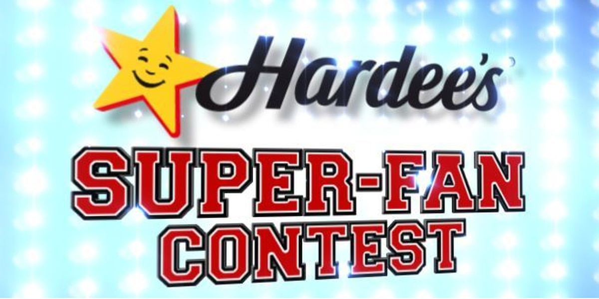 Super-Fan Contest: Enter for a chance to win Hardee's gift cards & a TV!