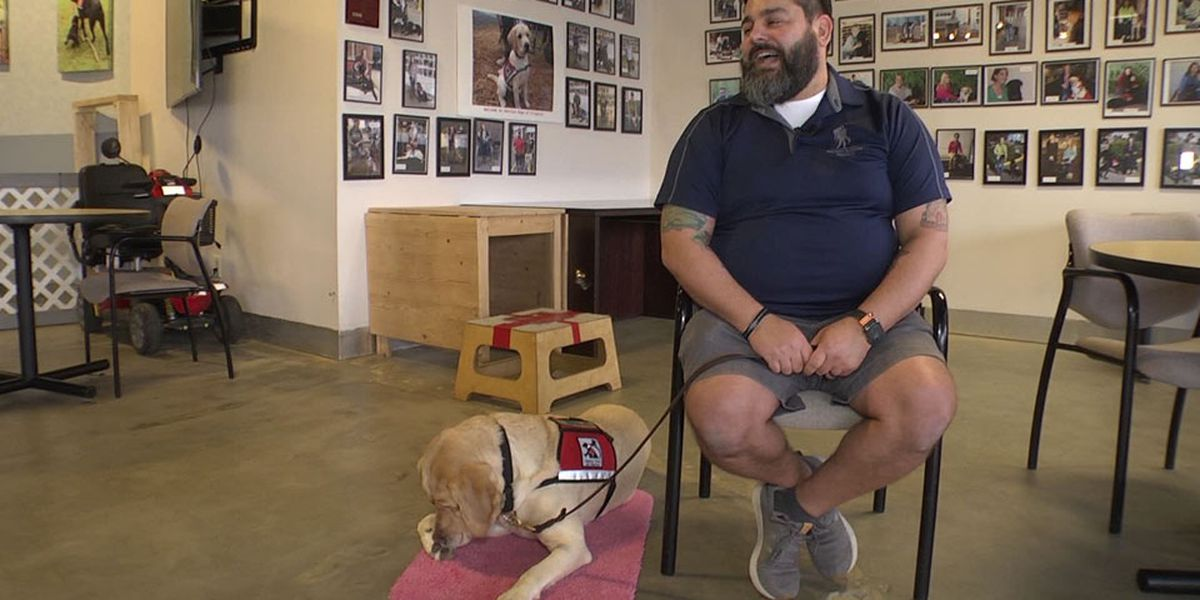 Service Dogs of Virginia helping veterans cope with PTSD