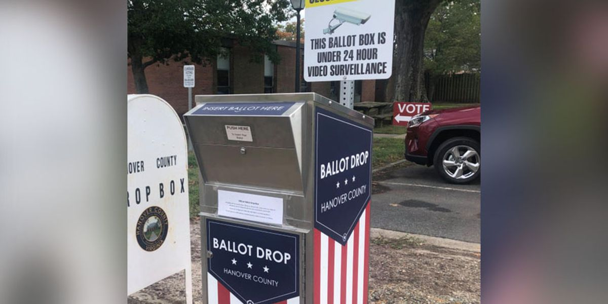 Ballot drop-box available 24-hours for Hanover residents