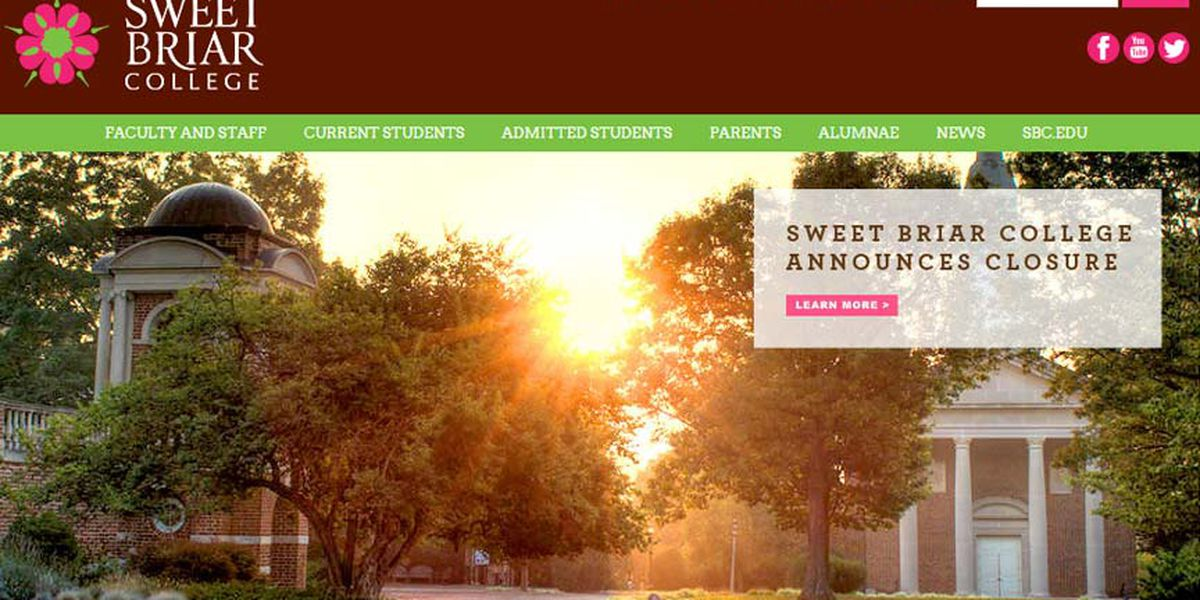 Sweet Briar College to close in August over financial issues