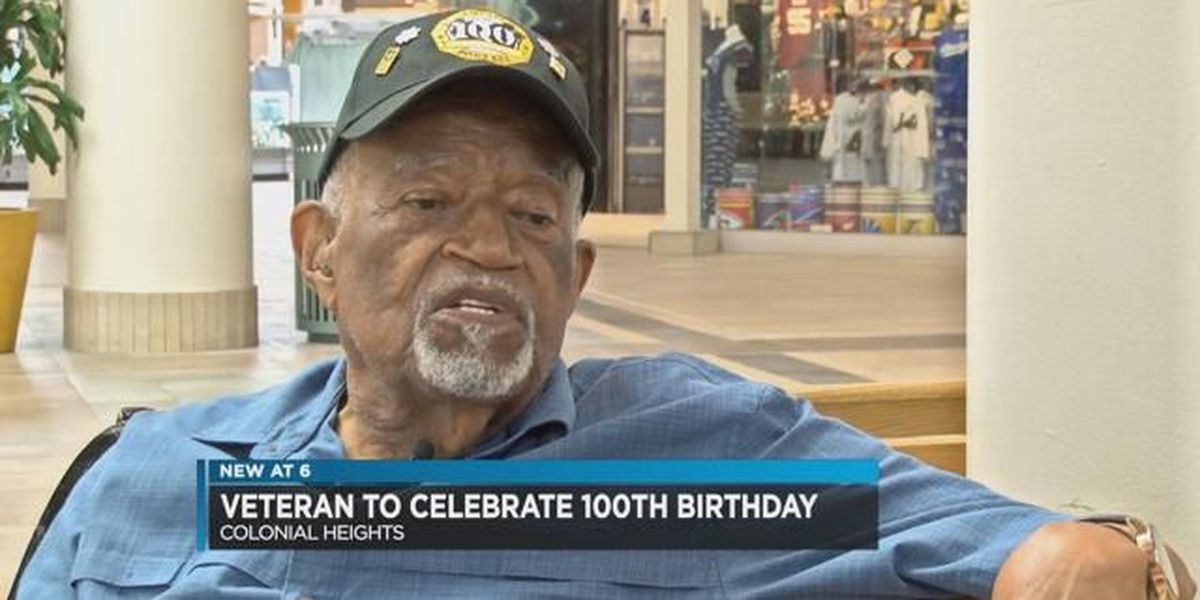 Veteran to celebrate 100th birthday
