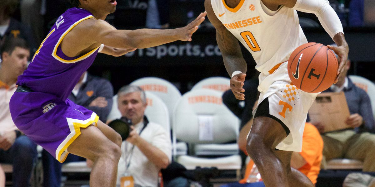 No. 3 Vols trounce Tennessee Tech 96-53 for 7th straight win