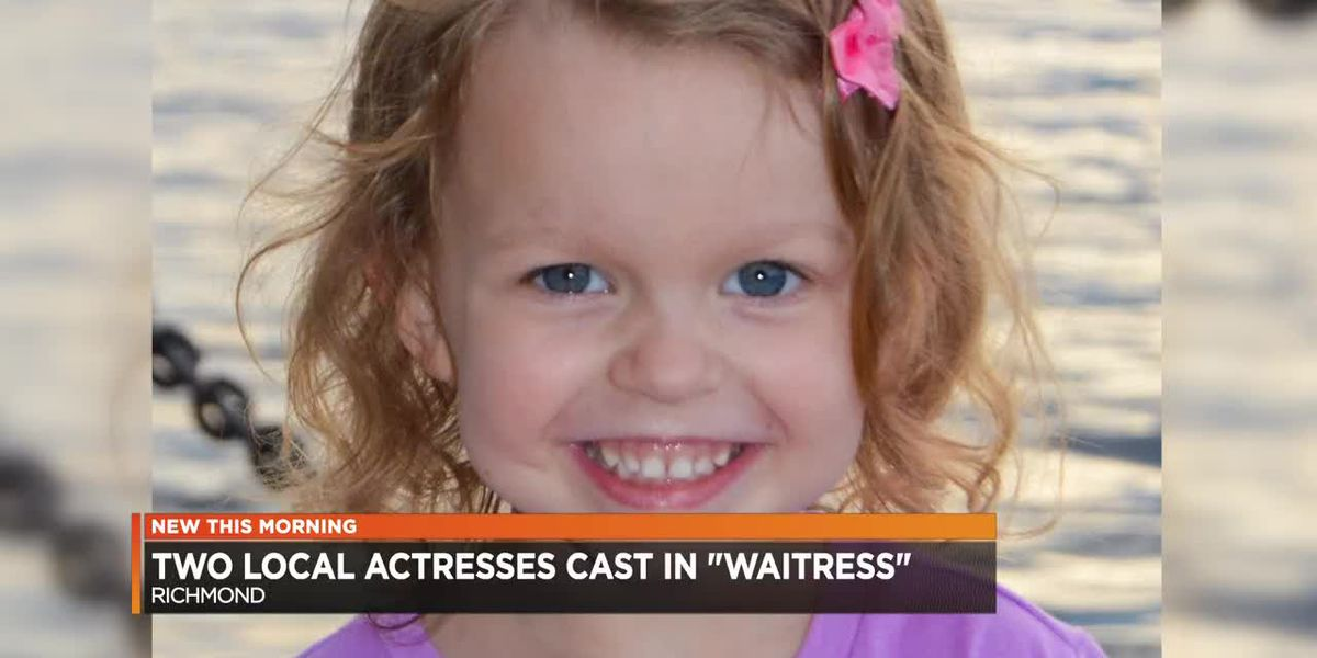 2 young actresses chosen for Lulu in Richmond production of 'Waitress'