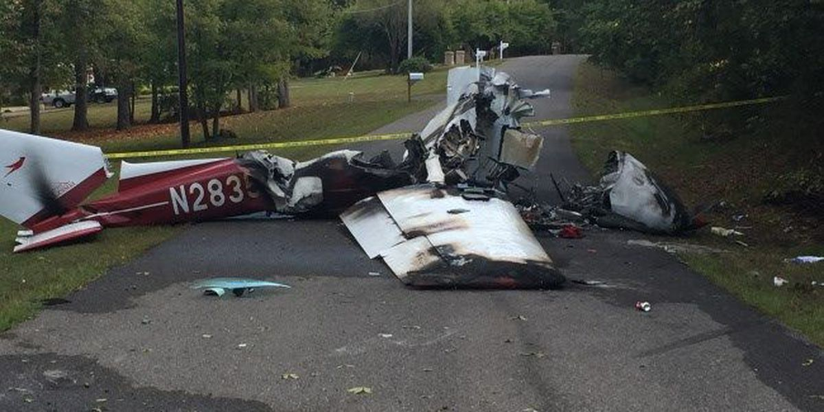 Plane crashes in southwest Virginia