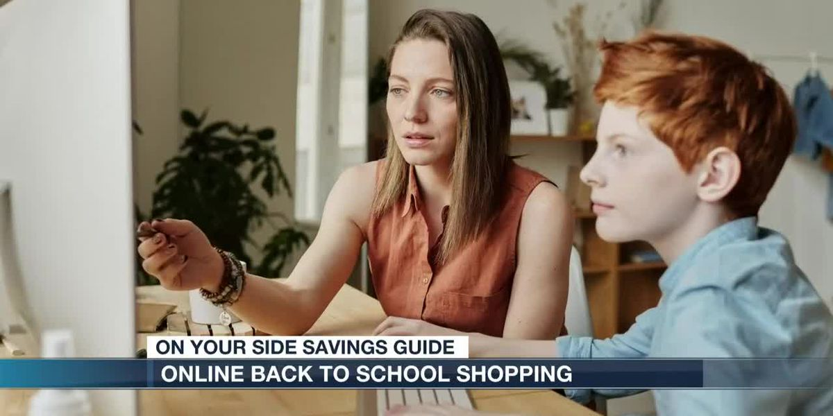 Online back-to-school shopping