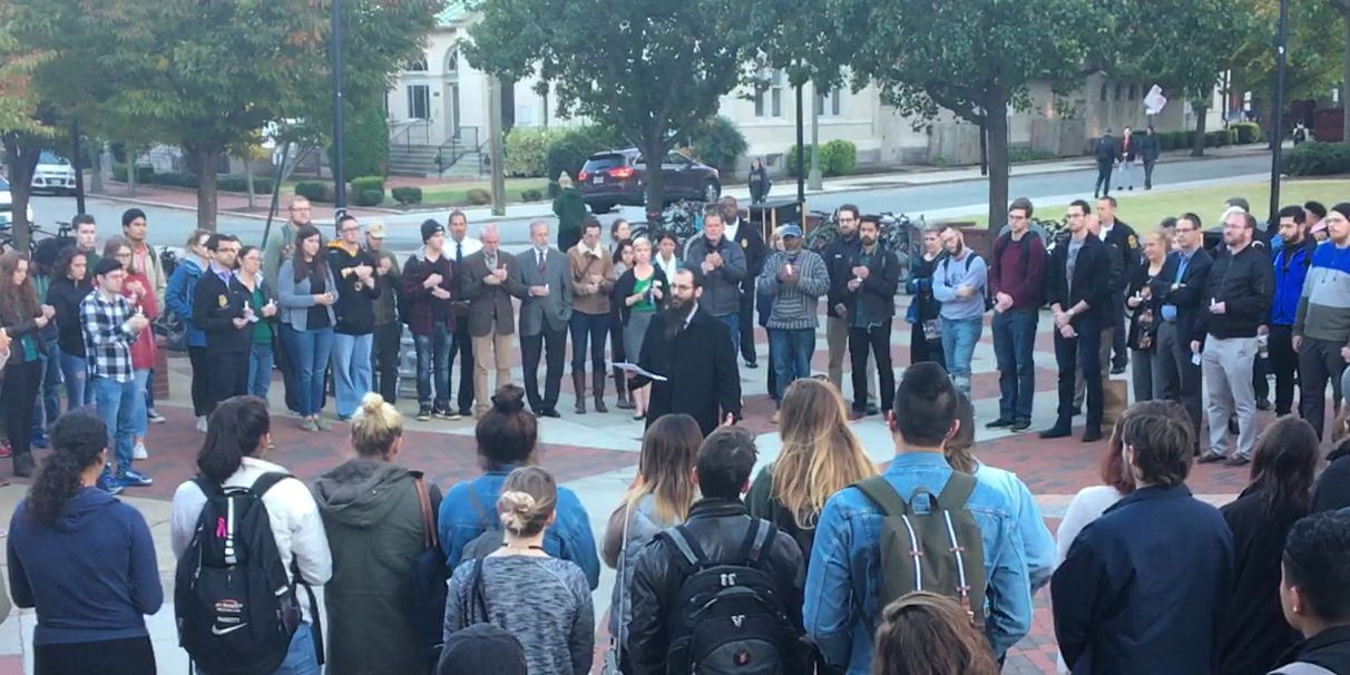 VCU remembers victims of synagogue shooting