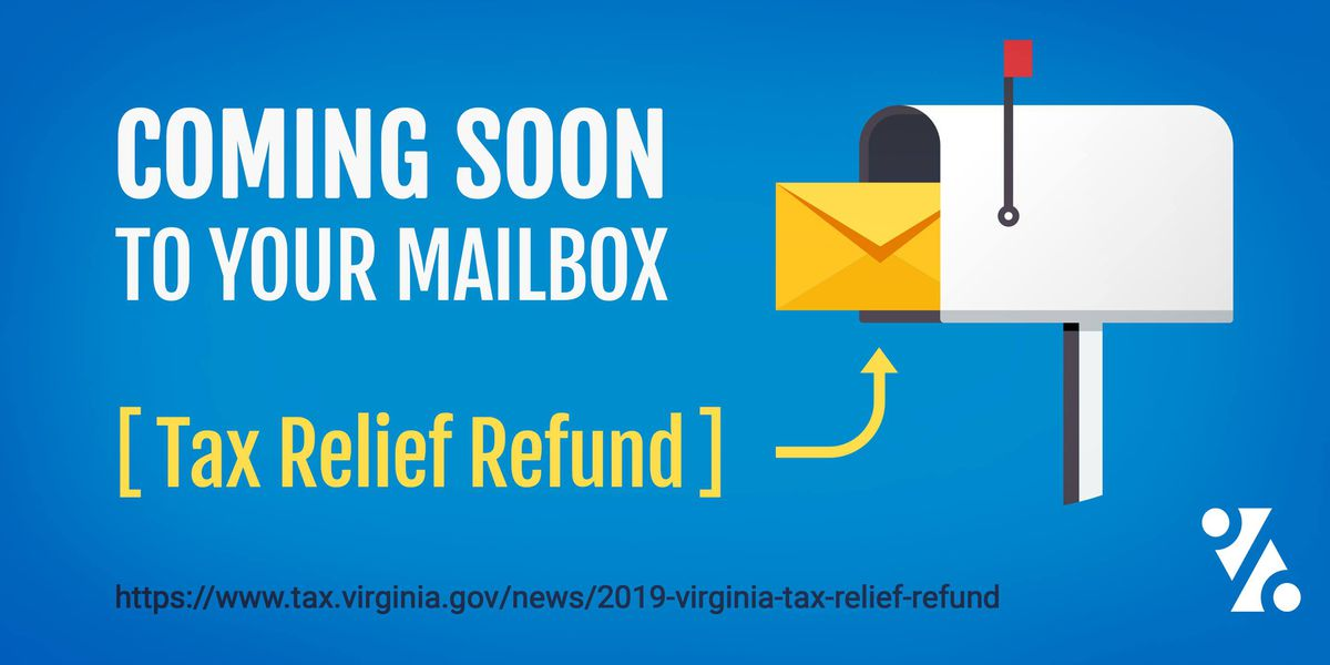 Virginia tax refund checks are in the mail - so don't throw them out