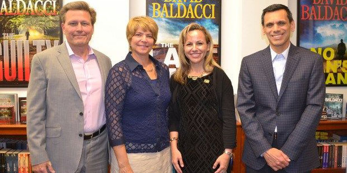 Author David Baldacci donates $1.1 million to VCU