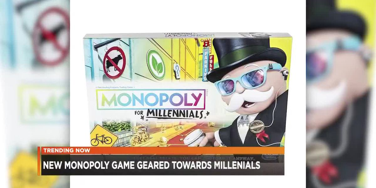 Monopoly introduces themed game for Millennials