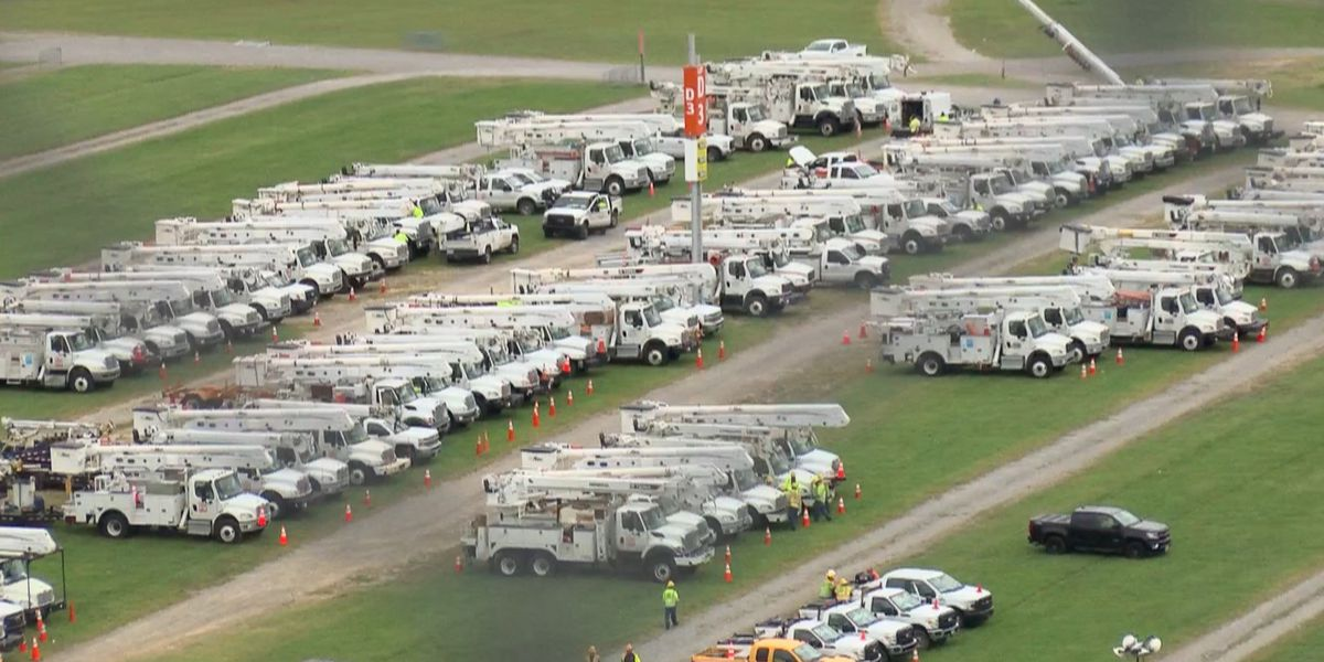 Nearly 2,000 crews helping Dominion Energy restore power