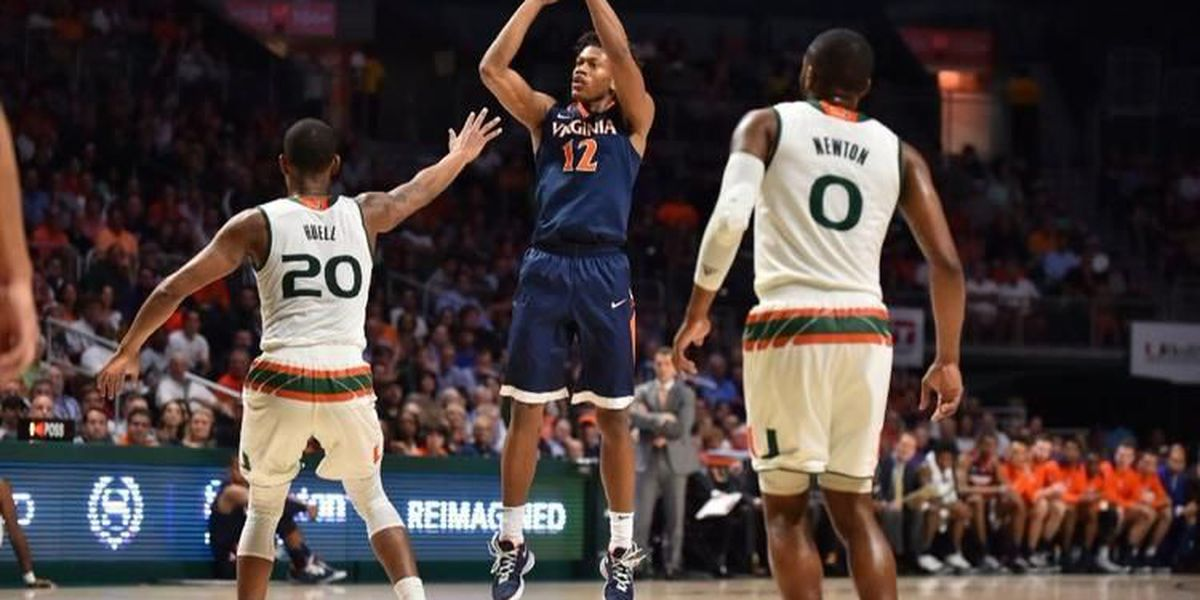 Virginia passes first test as number one ranked team