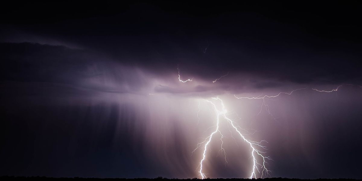 Swimmer struck by lightning in Outer Banks