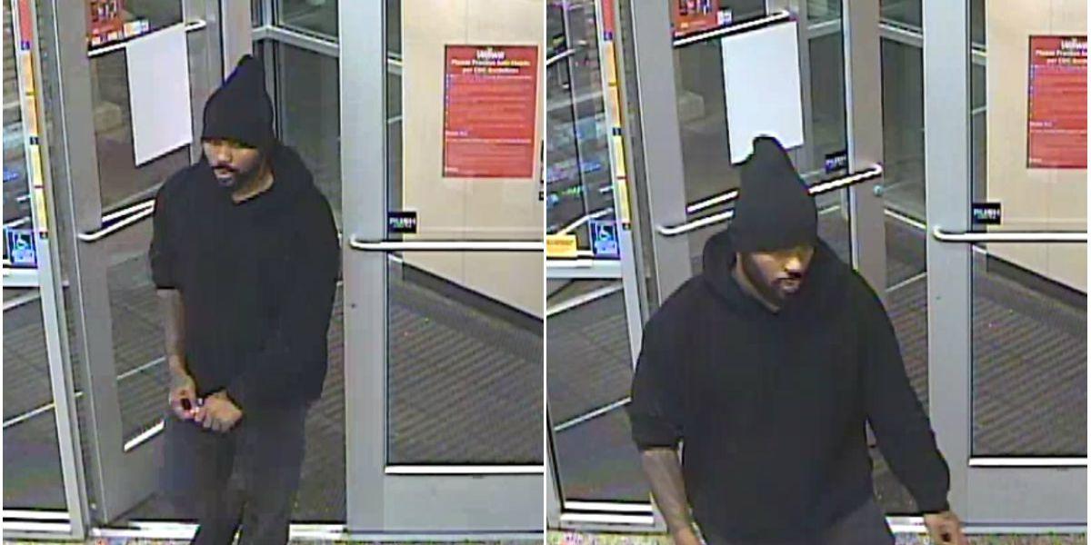 Deputies seek identify man accused of using stolen credit card