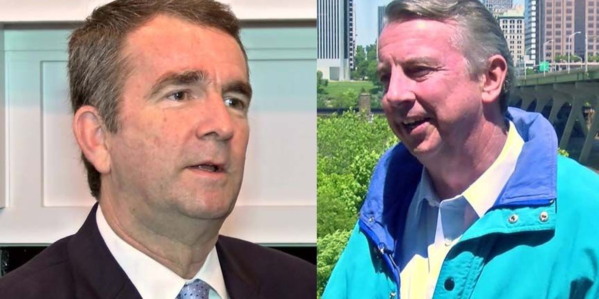 Va. governor candidates Northam and Gillespie offer different opinions on confederate monuments