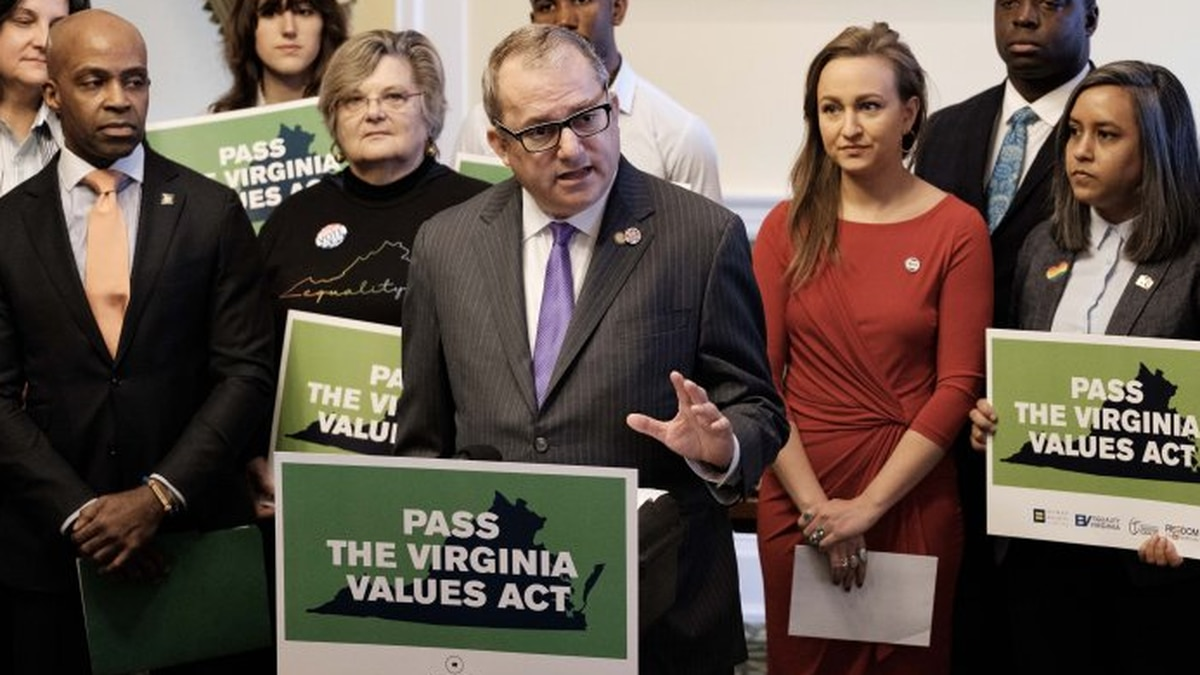 Virginia becomes first southern state to pass sweeping LGBTQ nondiscrimination bill