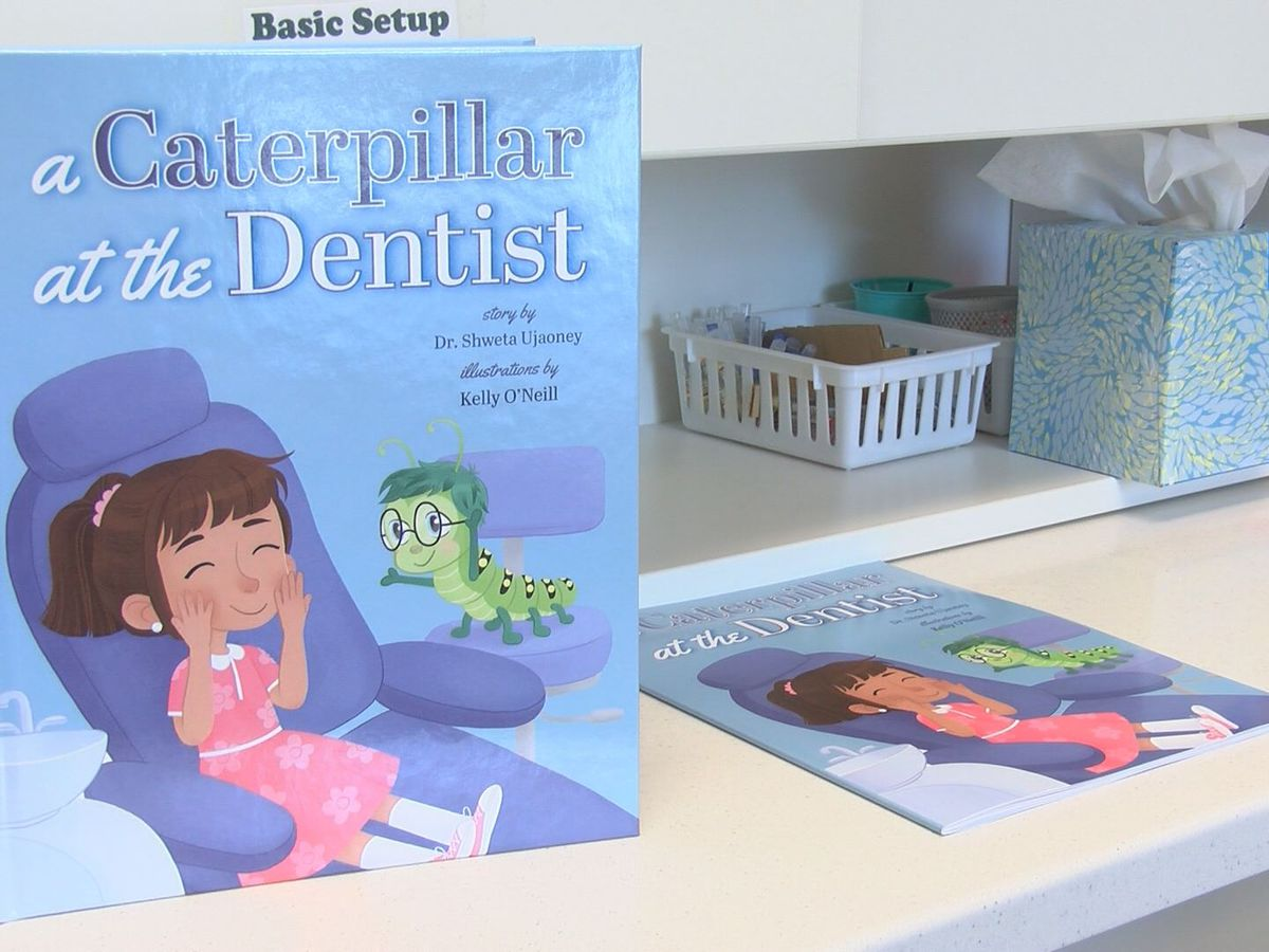 Glen Allen dentist writes book to help ease children's fears