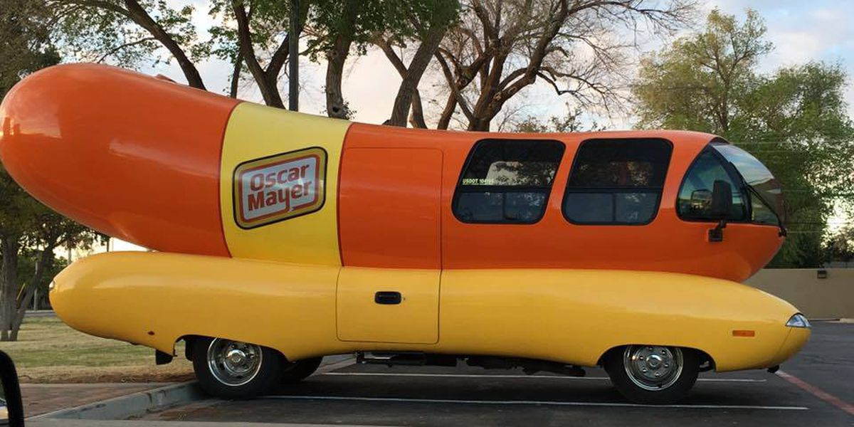 Oscar Mayer Wienermobile making Richmond-area pit stops