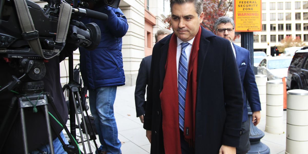 Justice Department and CNN spar over Acosta's press pass