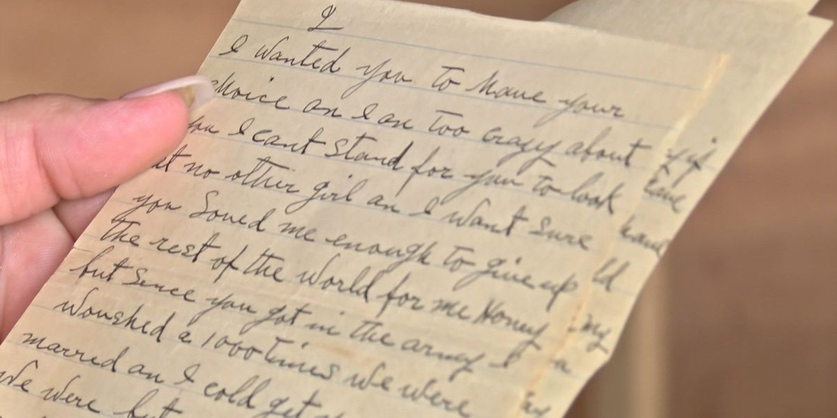 Mechanicsville woman finds WWII letters in dresser bought at auction