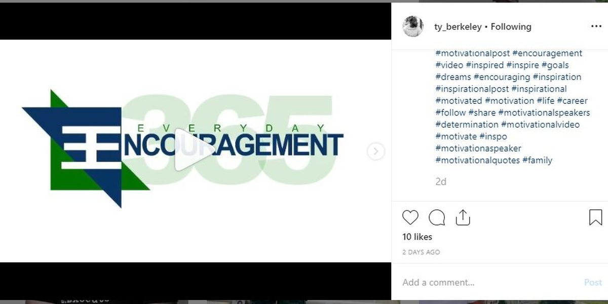 Youth pastor uplifts community with 'Everyday Encouragement' Instagram segments