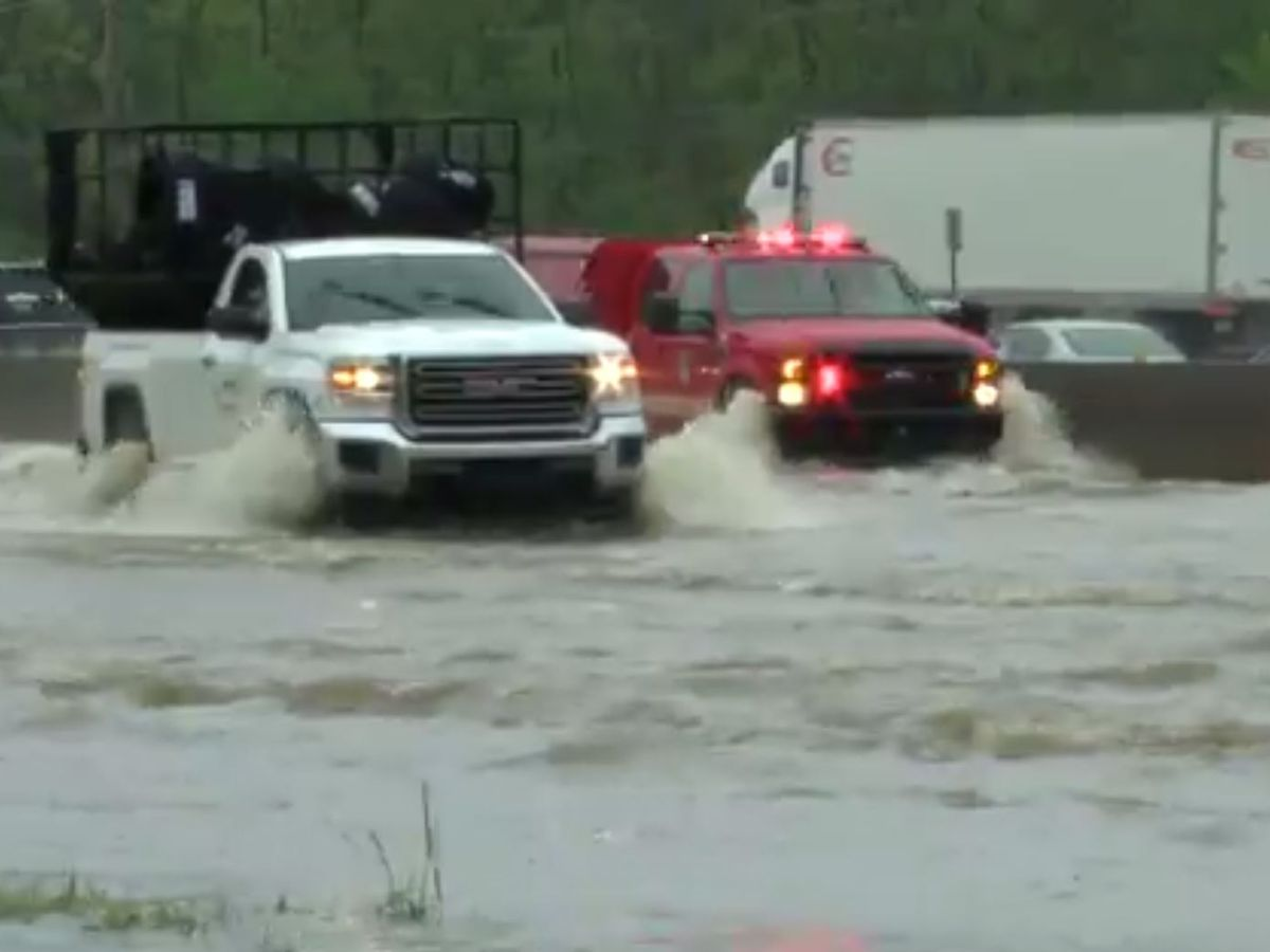 Severe weather pounds Texas, Louisiana and Mississippi