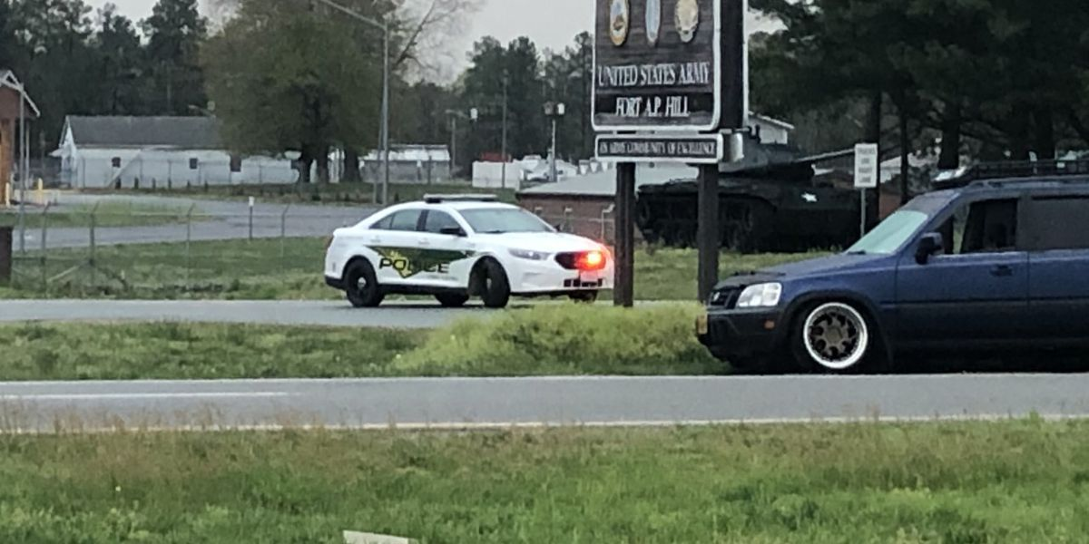 Sheriff's office: 2 people shot during road rage incident near Fort A.P. Hill