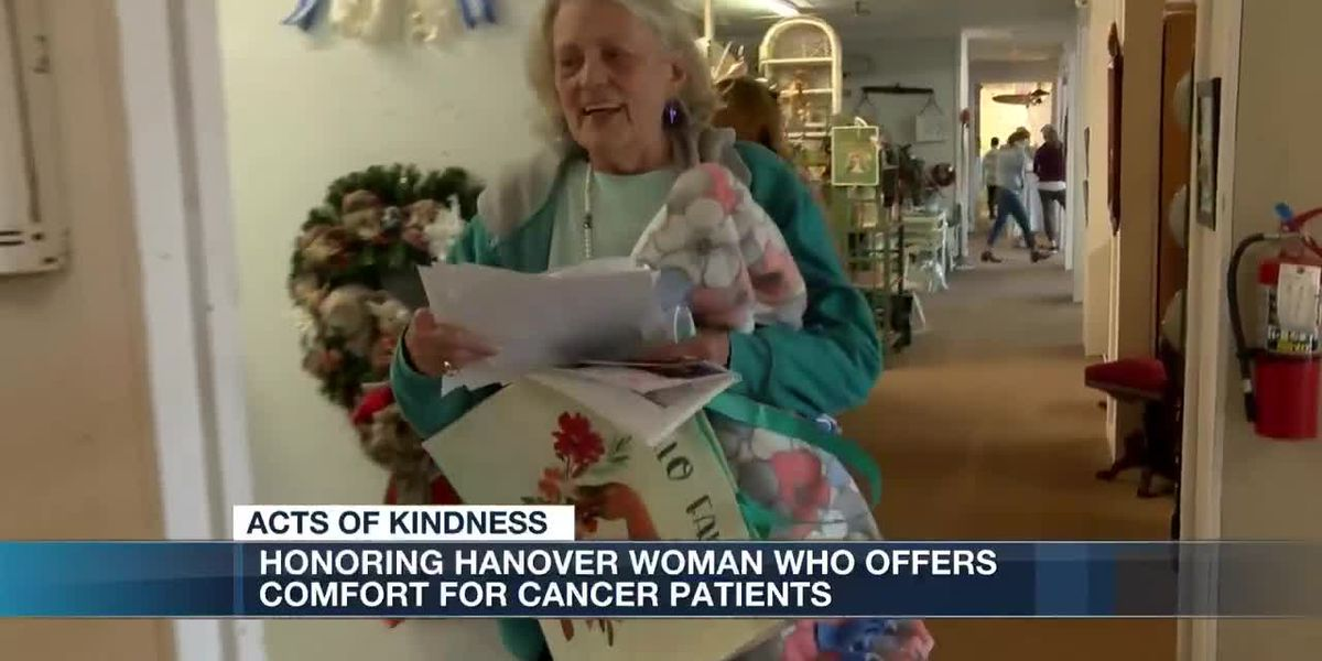 Hanover County woman honors late daughter by gifting blankets to cancer patients