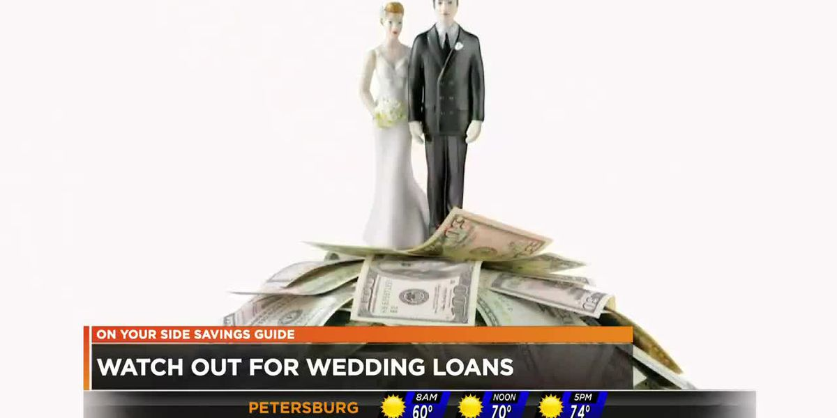Watch out for wedding loans