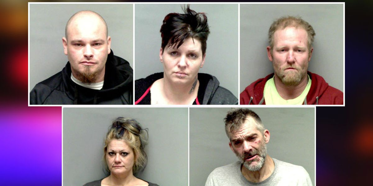 5 arrested after law enforcement seize drugs, firearms in joint investigation